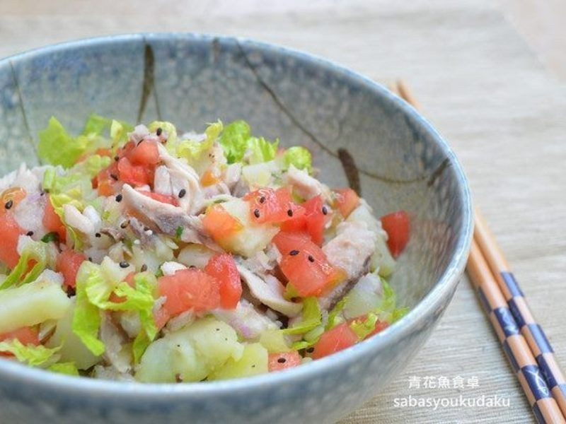 【春料理】鯖魚洋芋沙拉