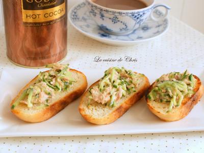 [早餐] 鮪魚小黃瓜法棍