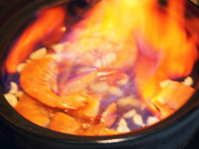 高粱火燒蝦