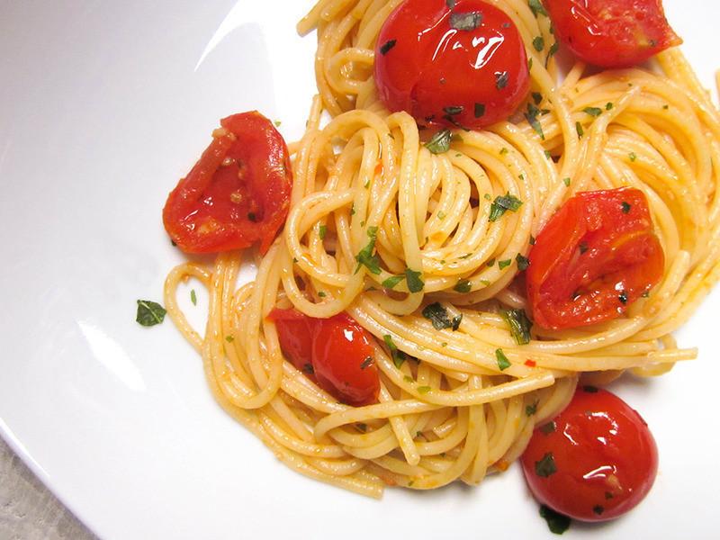 迷你番茄義大利麵