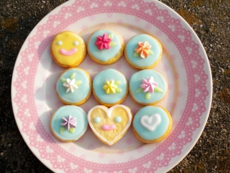 基礎餅乾 (奶油原味)-糖霜&巧克力應用