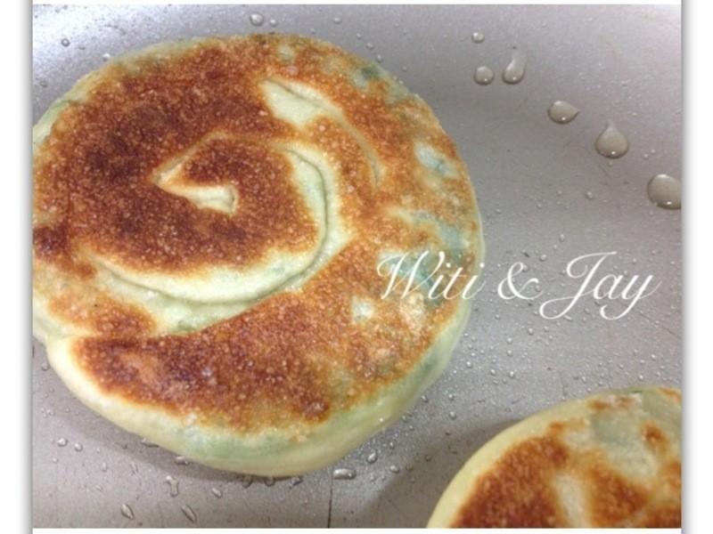 [Witi✿Kitchen](麵包機-餡餅)青蔥餡餅