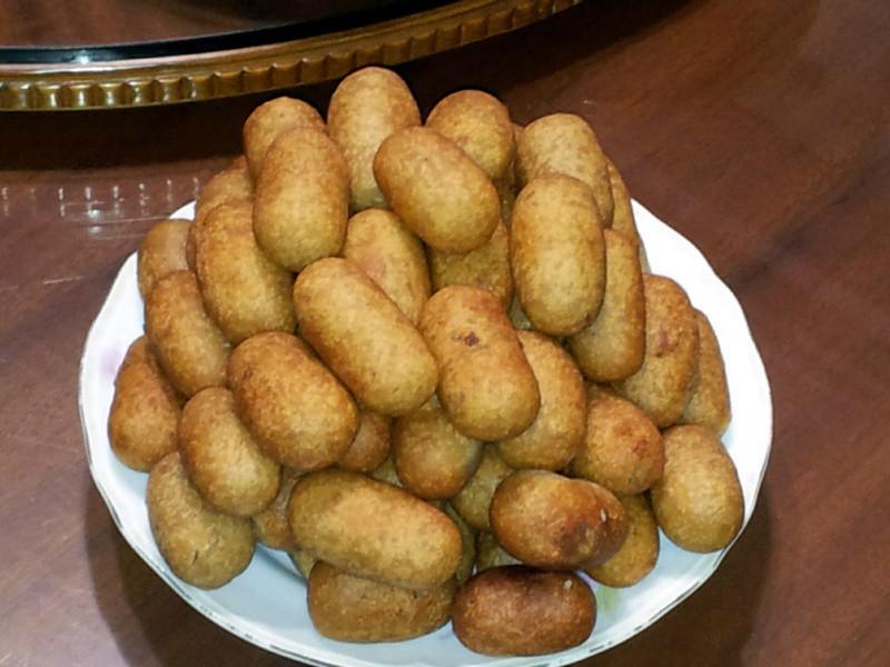 中式甜點~小芋丸