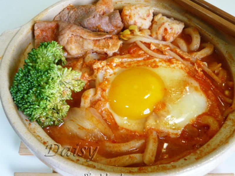 鍋燒泡菜烏龍麵