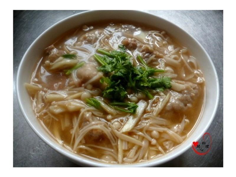 自製肉羹湯(麵)