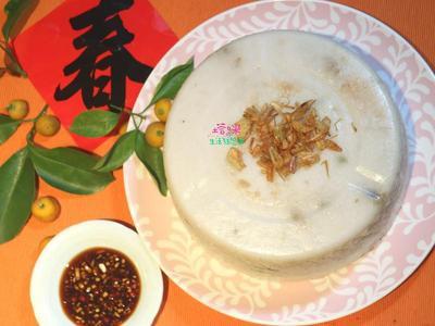 婆婆的傳承-蘿蔔糕(菜頭粿)