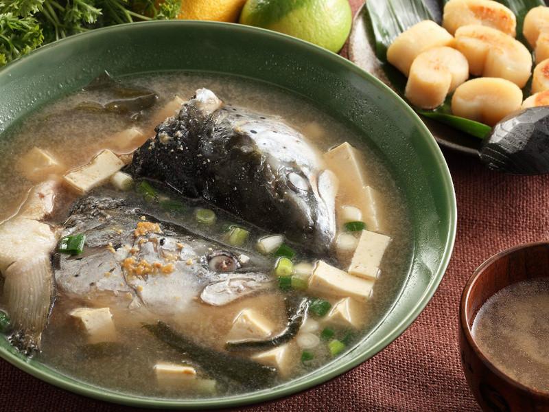 [上野物產]日式鮭魚頭味增湯