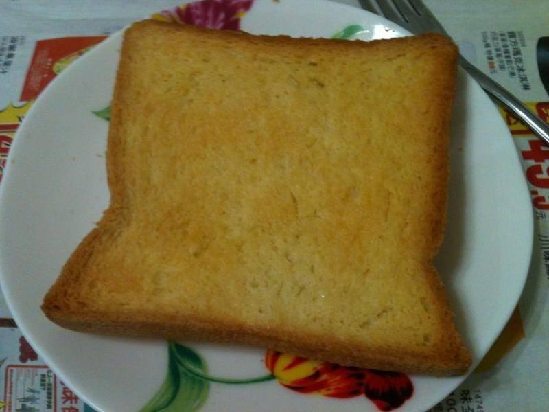 香烤奶油吐司 簡單美味