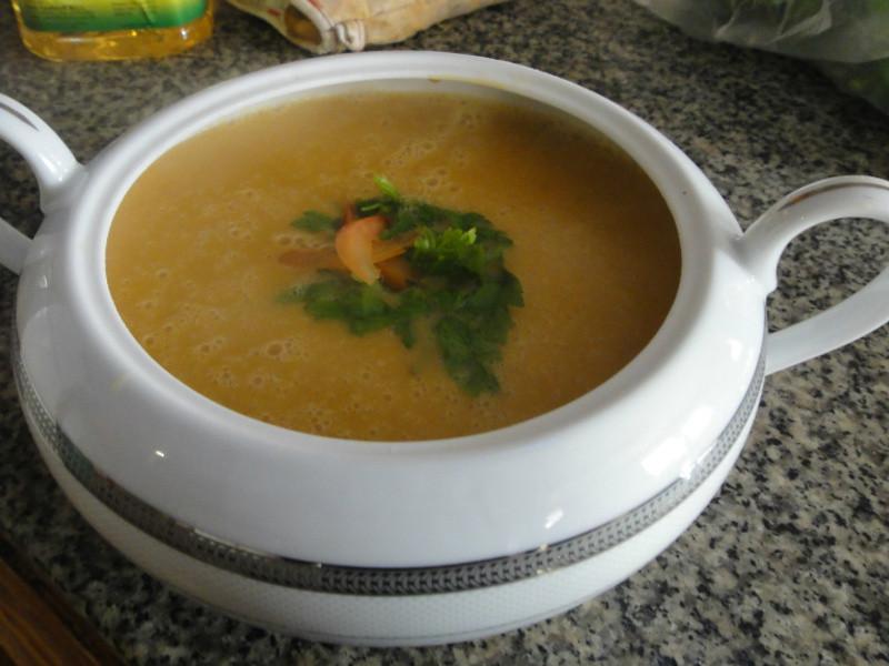 莫齊尼廚房中東菜--紅扁豆湯(Shorba Adas)