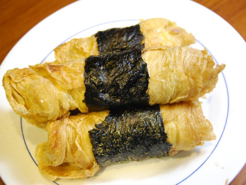 【尤姐姐食譜】鮪魚豆皮捲