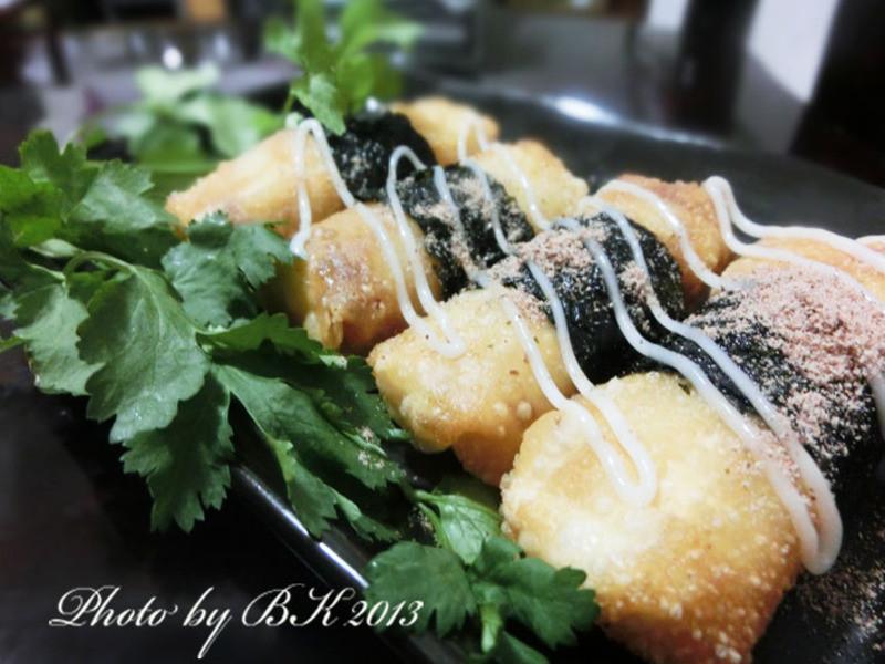 海苔蝦米捲