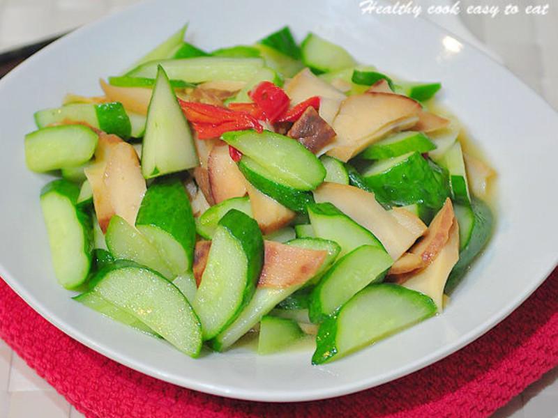 清炒黃瓜鮑魚片