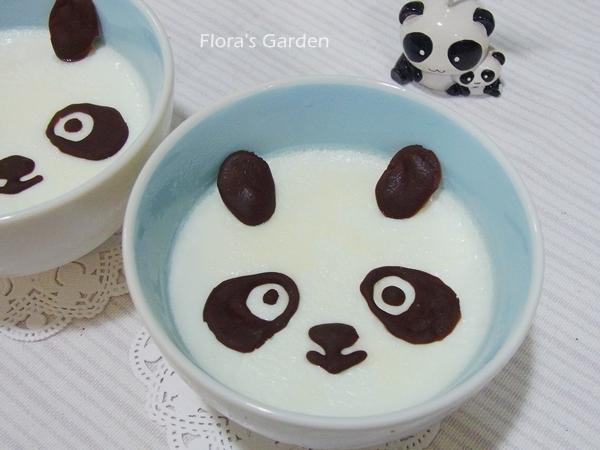 功夫熊貓~鮮奶燉蛋