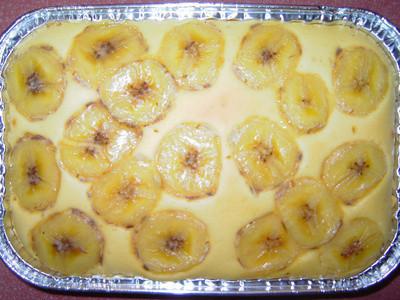 香蕉鬆糕(家庭式小烤箱)