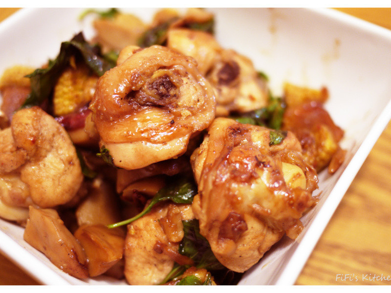 FiFi's Kitchen - 三杯雞
