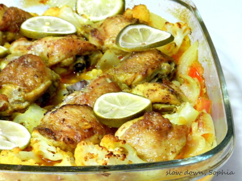 摩洛哥式雞腿燉菜