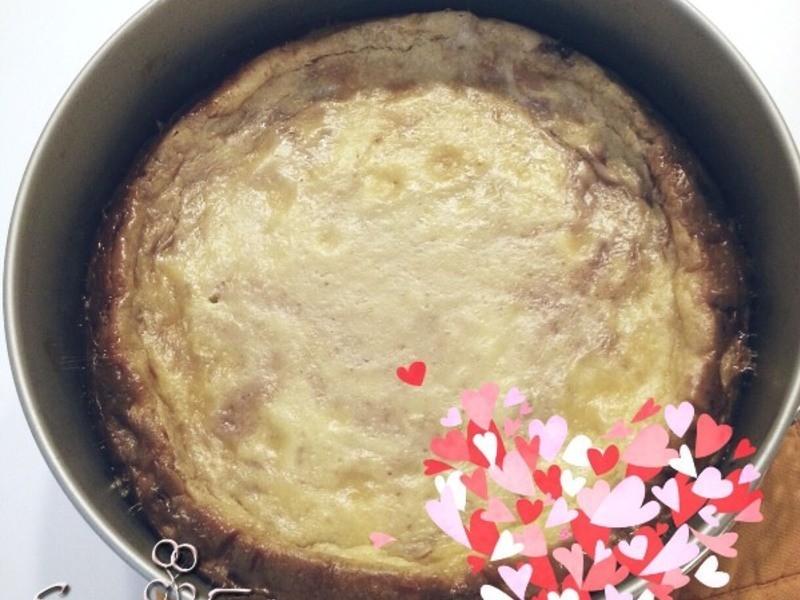 白色情人節限定 - 白巧克力草莓起士蛋糕