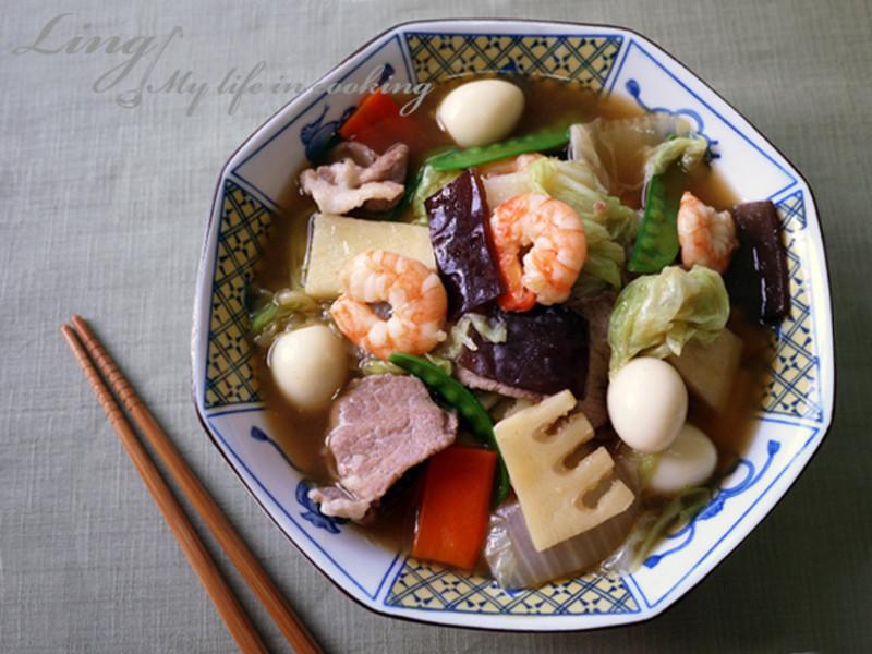 中式♪ 龜甲萬樂享醍醐味的八寶菜