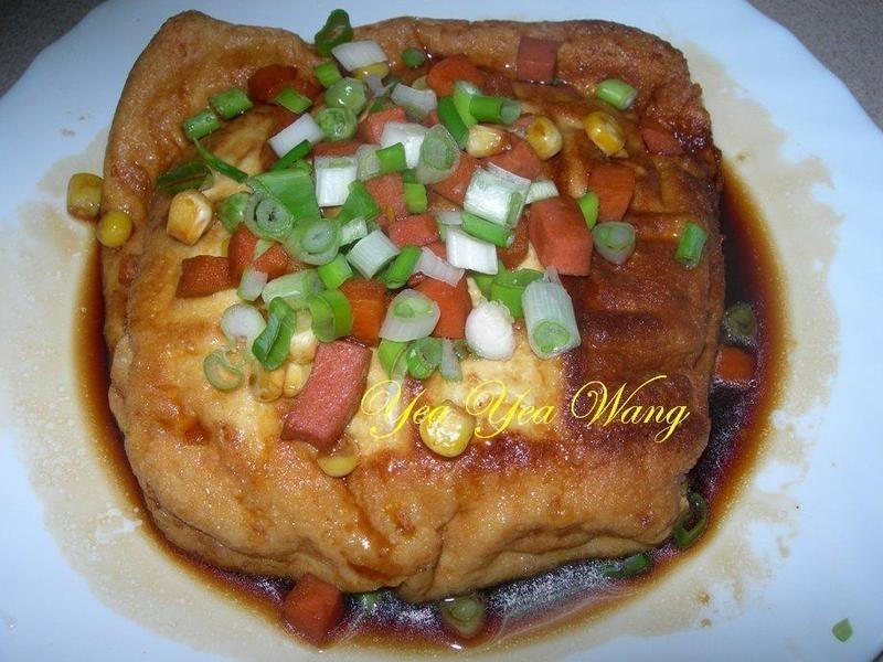 ((龜甲萬醍醐味))和露板豆腐