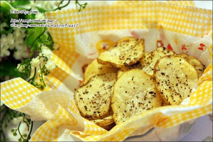 鹽烤香料馬鈴薯脆片