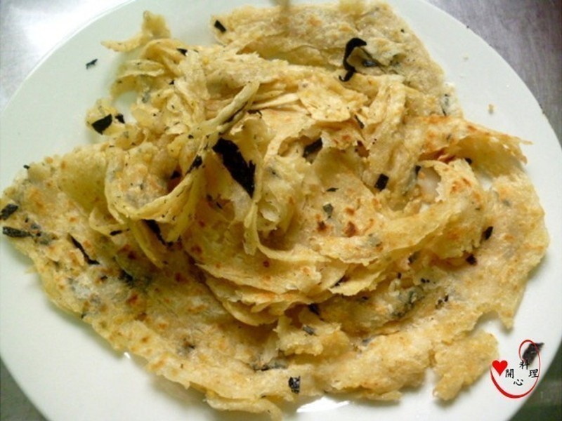 豆渣海苔金絲餅