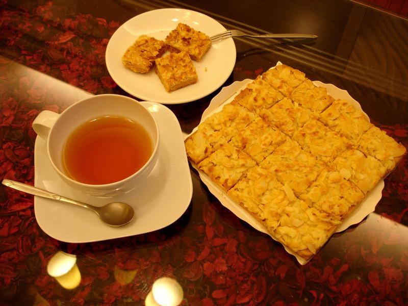 焦糖杏仁酥餅-香氣四溢的茶點