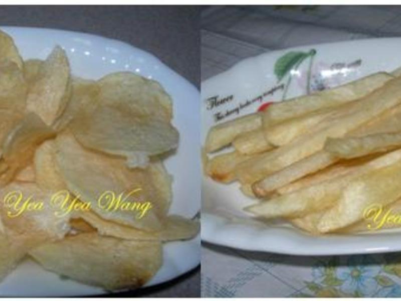 (素)薯片+薯條