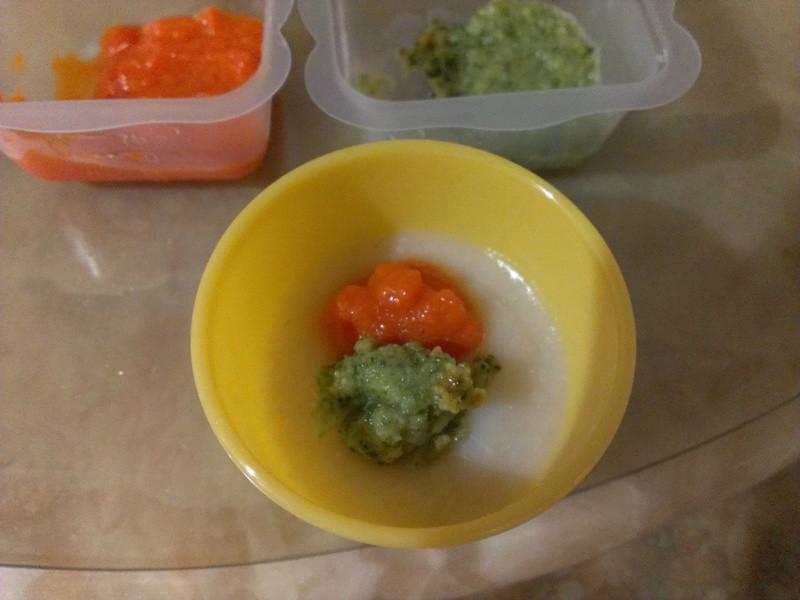品靚上菜-寶寶副食品-雙色蔬菜粥