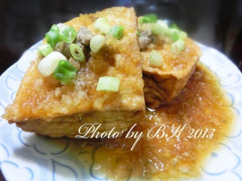 【龜甲萬樂享醍醐味】蘿蔔泥牛肉油豆腐