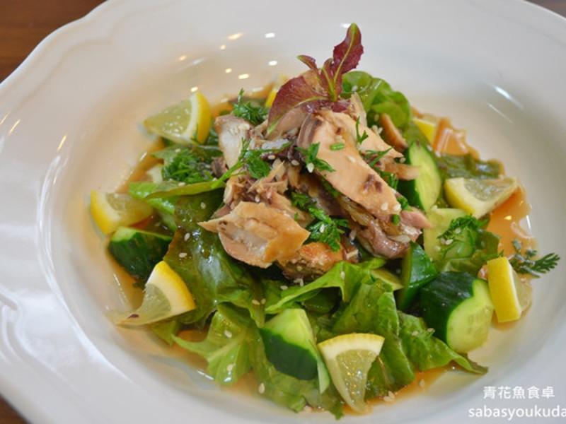【春料理】和風鯖魚沙拉