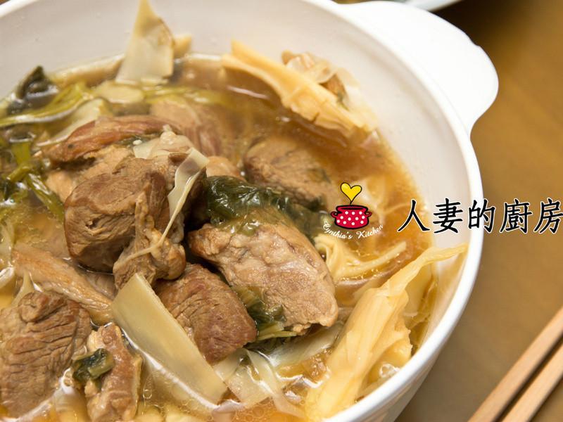 【人妻的廚房】筍乾滷肉