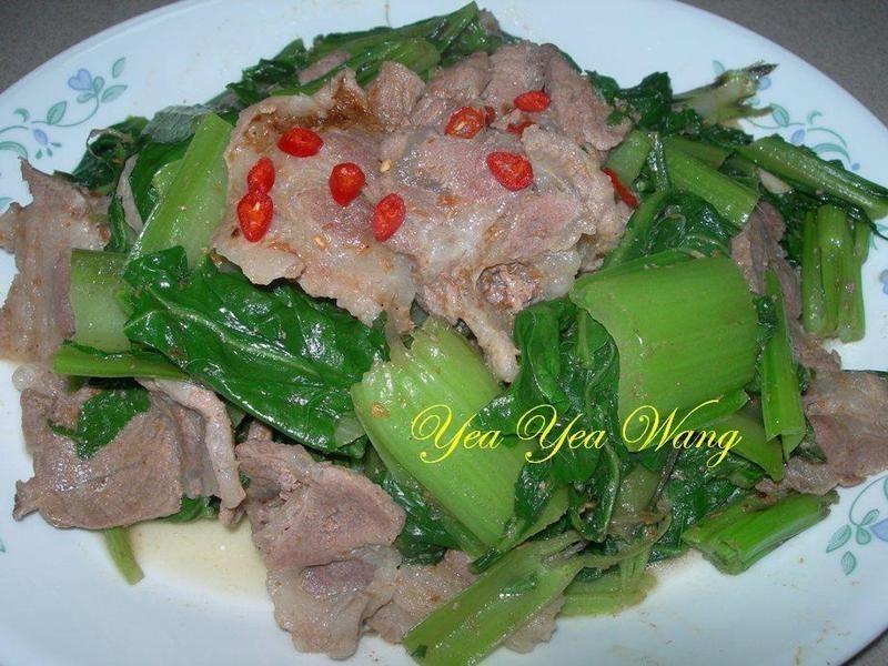 愛心沙茶時蔬炒肉片