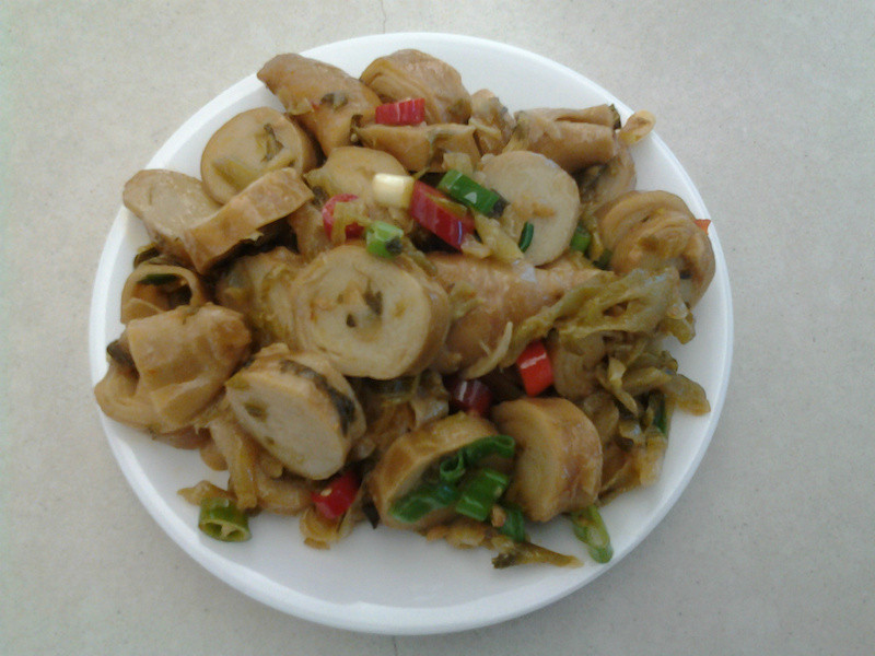 素腸炒酸菜