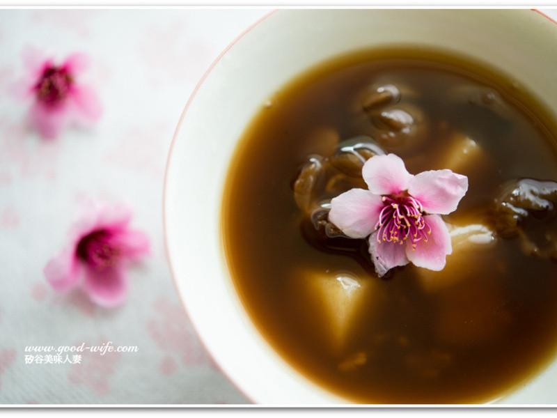 [矽谷美味人妻]豐胸甜品黑糖酒釀桂圓湯