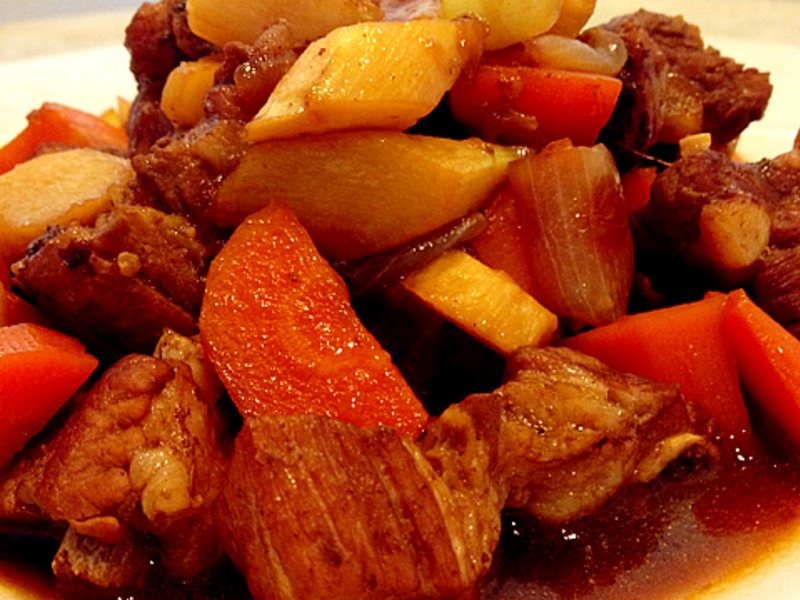 [woman家]-醬燒蔬菜豬小排3人份