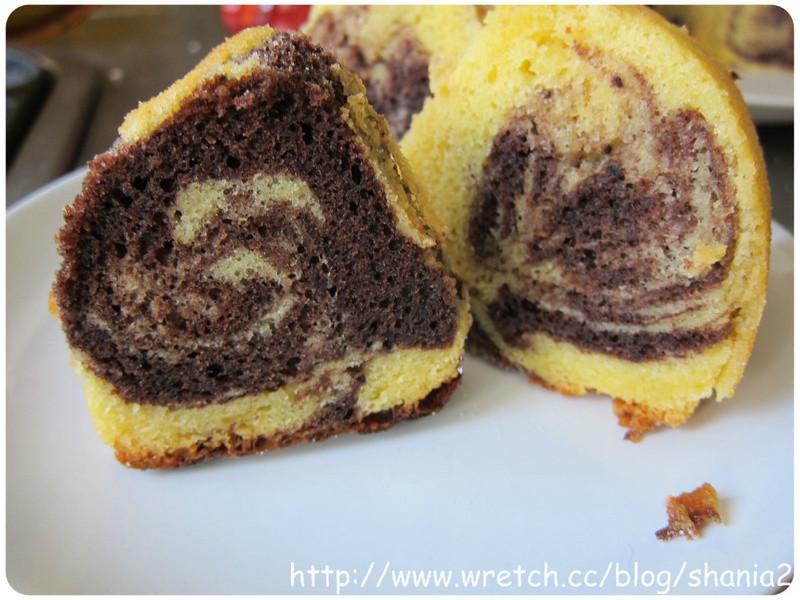 用鬆餅粉做 大理石磅蛋糕