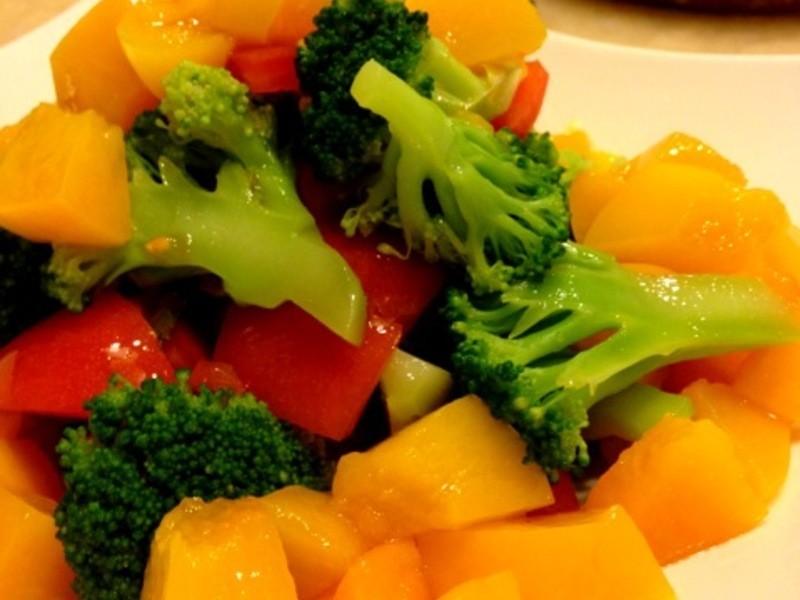 [woman家]-和風水蜜桃蔬菜沙拉