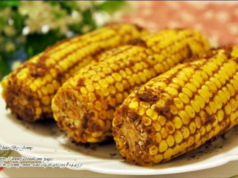 沙茶蒜香烤玉米