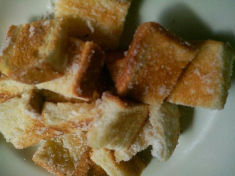 糖粉吐司角