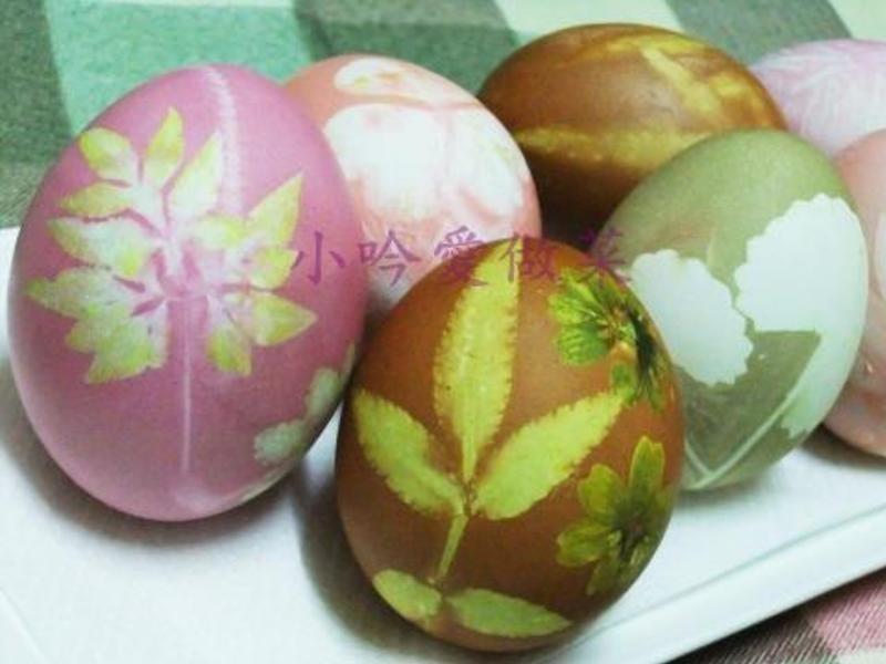 ღ小吟愛做菜ღ尚水ㄟ~彩色印花蛋