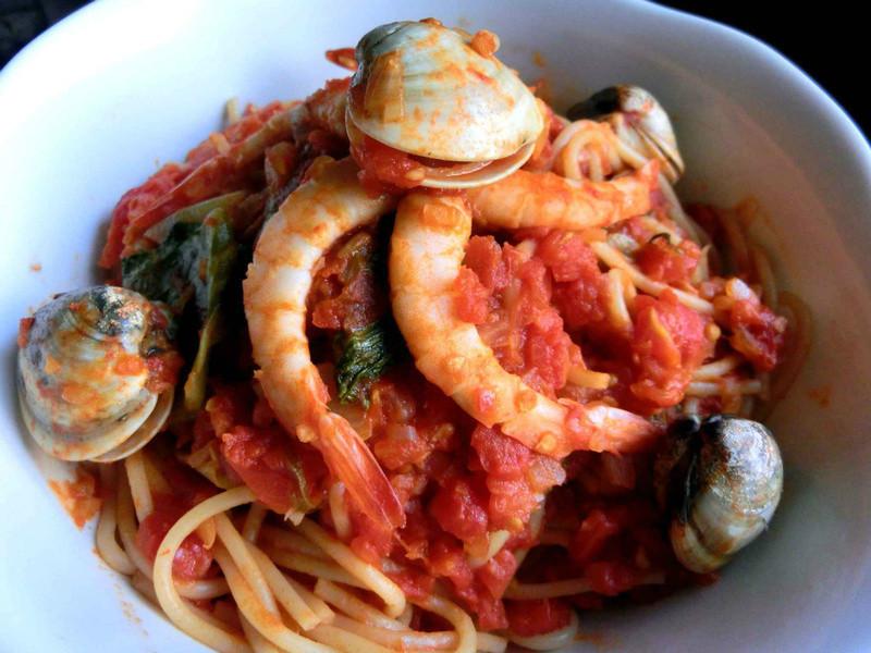 海味番茄義大利麵