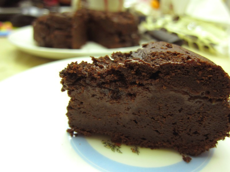 蔓越莓可可蛋糕