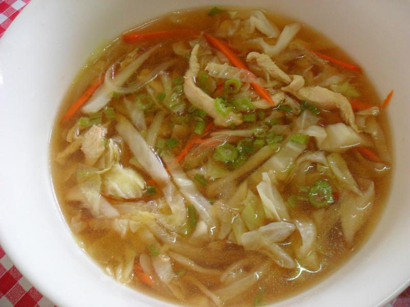 【龜甲萬樂享醍醐味】雞肉蔬菜清湯