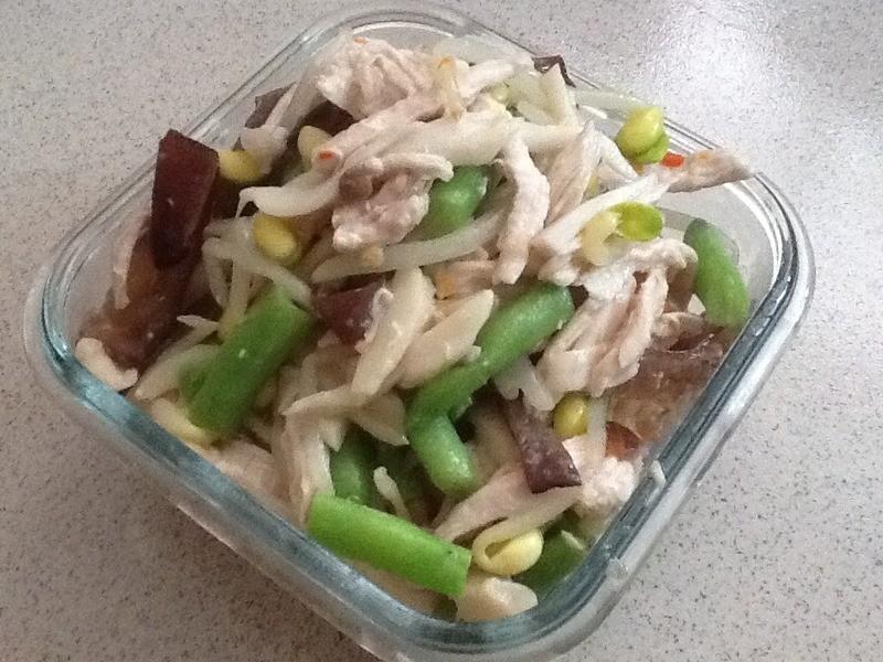 涼拌菜---什錦蔬菜佐雞絲