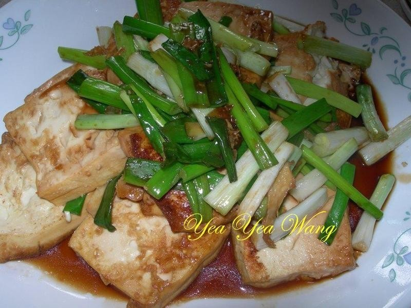 ((龜甲萬醍醐味))蔥燒豆腐