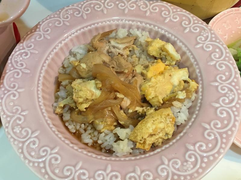 雞肉親子丼