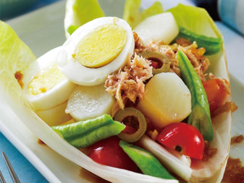 尼斯鮪魚蔬菜