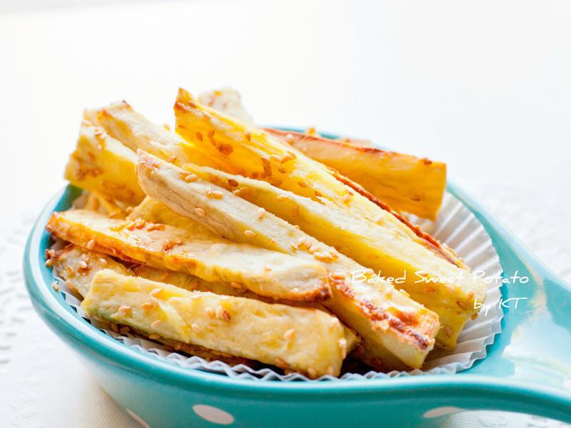 [矽谷美味人妻] 黃金芝麻地瓜薯條