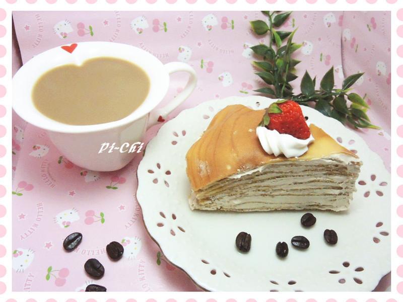 咖啡千層蛋糕