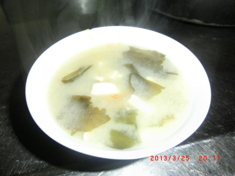 營養滿分味增湯